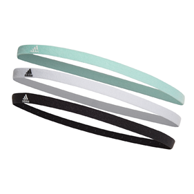 ADIDAS HAIRBAND 3-PACK MINT/WHITE/BLACK