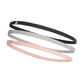 ADIDAS HAIRBAND 3-PACK ORANGE/WHITE/BLACK