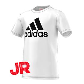 ADIDAS LOGO T-SHIRT JR WHITE/BLACK 116 CL
