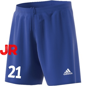 ADIDAS PARMA JR SHORTS BOLD BLUE/WHITE 116 CL