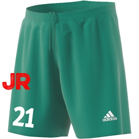 ADIDAS PARMA JR SHORTS BOLD GREEN/WHITE 116 CL