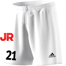 ADIDAS PARMA JR SHORTS WHITE/BLACK 116 CL