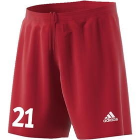 ADIDAS PARMA SHORTS POWER RED/WHITE L