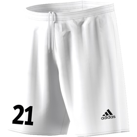 ADIDAS PARMA SHORTS WHITE/BLACK L