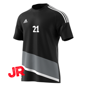 ADIDAS REGISTA 16 JSY JR BLACK/GREY 116 CL