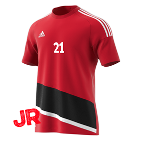 ADIDAS REGISTA 16 JSY JR POWER RED/BLACK 116 CL