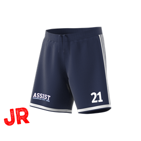 ADIDAS REGISTA 18 SHORTS DARK BLUE/WHITE 116 CL