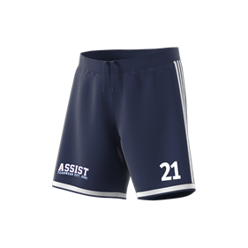 ADIDAS REGISTA 18 SHORTS DARK BLUE/WHITE L