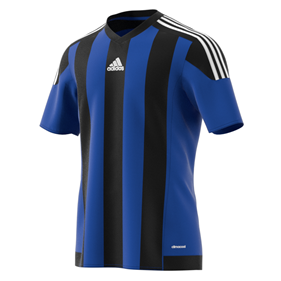 ADIDAS STRIPED 15 JSY BOLD BLUE/BLACK L