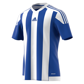 ADIDAS STRIPED 15 JSY BOLD BLUE/WHITE L