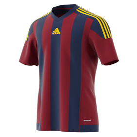 ADIDAS STRIPED 15 JSY DARK BLUE/COLLEGIATE BURGUNDY L