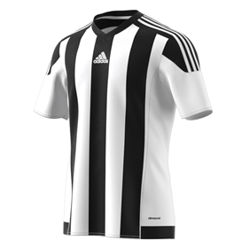ADIDAS STRIPED 15 JSY WHITE/BLACK L