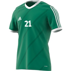 ADIDAS TABELA 14 JSY TWILIGHT GREEN/WHITE L
