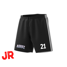 ADIDAS TASTIGO 18 SHORTS BLACK/WHITE 116 CL