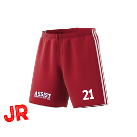 ADIDAS TASTIGO 18 SHORTS POWER RED/WHITE 116 CL