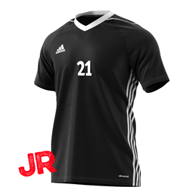 ADIDAS TIRO 17 JSY JR BLACK 116 CL