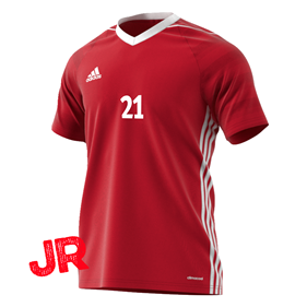 ADIDAS TIRO 17 JSY JR POWER RED 116 CL