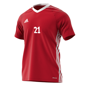 ADIDAS TIRO 17 JSY POWER RED L
