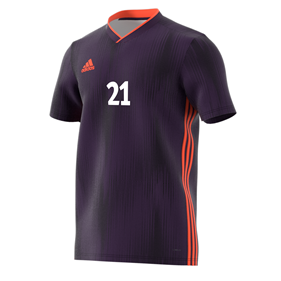 ADIDAS TIRO 19 JERSEY LEGEND PURPLE L