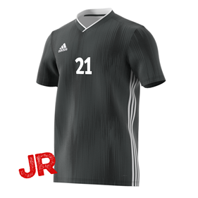 ADIDAS TIRO 19 JR JERSEY DGH SOLID GREY 116 CL