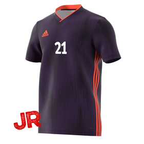 ADIDAS TIRO 19 JR JERSEY LEGEND PURPLE 116 CL