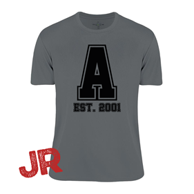 ASSIST A-FUNCTIONAL TEE GREY JR 120 CL