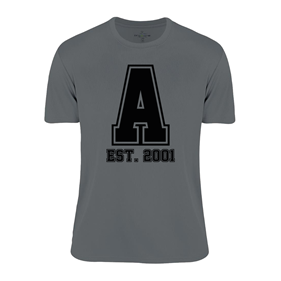 ASSIST A-FUNCTIONAL TEE GREY L