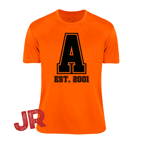 ASSIST A-FUNCTIONAL TEE ORANGE JR 120 CL