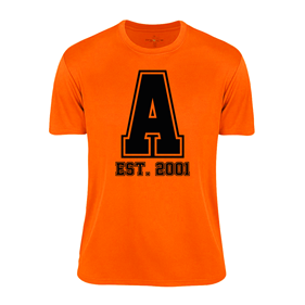 ASSIST A-FUNCTIONAL TEE ORANGE L