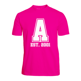 ASSIST A-FUNCTIONAL TEE PINK L