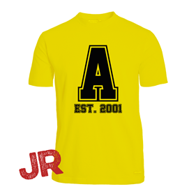 ASSIST A-FUNCTIONAL TEE YELLOW JR 120 CL