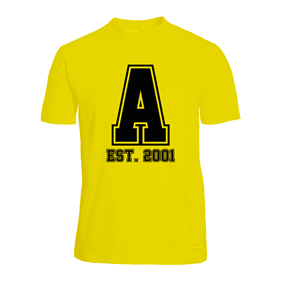 ASSIST A-FUNCTIONAL TEE YELLOW L