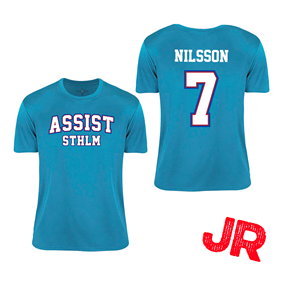 ASSIST STHLM CUPTRÖJA JR TURQUOISE 120 CL
