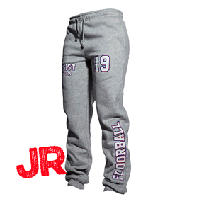 ASSIST STHLM SWEATPANTS JR GREY 120 CL