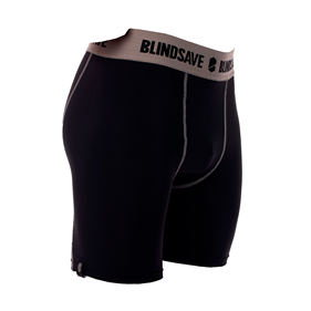 BLINDSAVE COMPRESSION SHORTS WITH CUP L