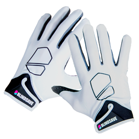 BLINDSAVE GOALIE GLOVES WHITE L