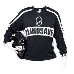 BLINDSAVE GOALIE JERSEY BLACK L