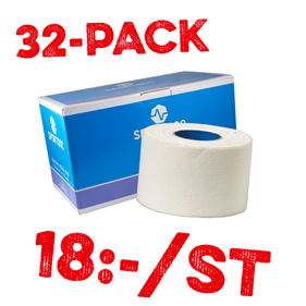 SPORTDOC COACH TAPE MEDICAL BLUE 32-PACK