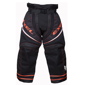 EXEL S100 GOALIE PANTS BLACK/ORANGE L