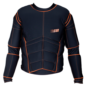 EXEL S100 PROTECTION SHIRT BLACK/ORANGE L