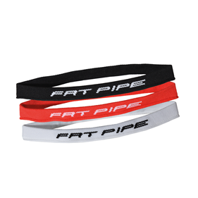 FATPIPE ANDRE HAIRBAND SET BLACK/RED/WHITE