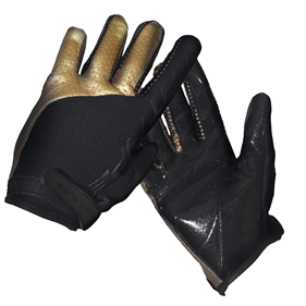 FATPIPE GK-GLOVES WITH SILICONE PALM BLACK/GOLD M