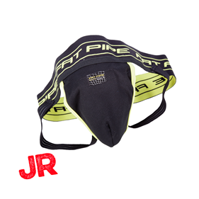 FATPIPE GK-JOCK STRAP BLACK/YELLOW JR