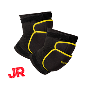FATPIPE GK-KNEEPADS BLACK/YELLOW JUNIOR