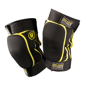 FATPIPE GK-KNEEPADS SHORT BLACK/YELLOW M/L