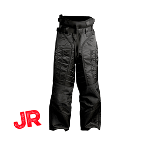 FATPIPE GK-PANTS JR ALL BLACK 150 CL