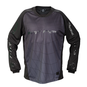 FATPIPE GK-SHIRT ALL BLACK XS