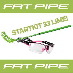 FATPIPE STARTKIT 33 JR LIME 80CM LEFT