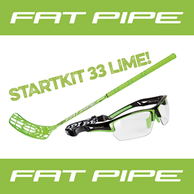 FATPIPE STARTKIT 33 18-19 LIME 80CM RIGHT