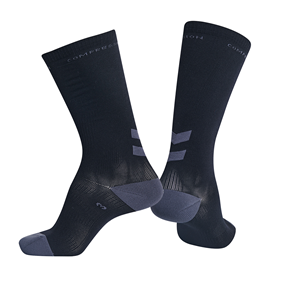 HUMMEL ELITE COMPRESSION SOCK BLACK EUR 25/31